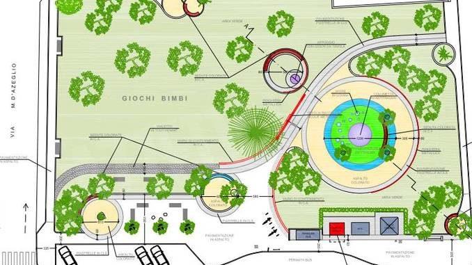 Presentata al comitato di quartiere la sistemazione dei giardini di corso Piave