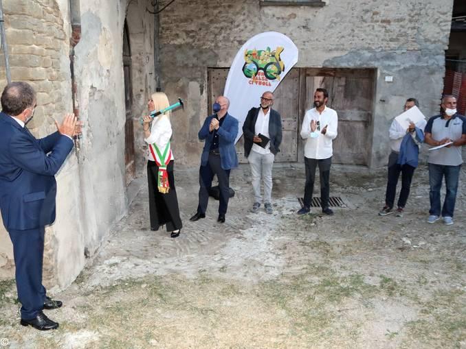 Santo Stefano Belbo avvio lavori vecchio mulino
