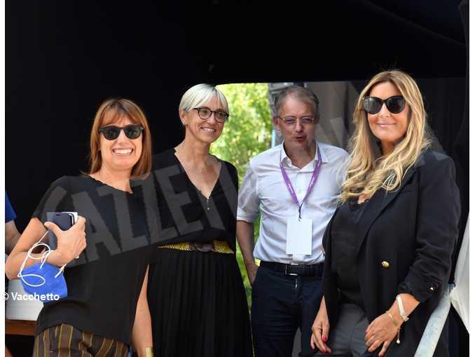 Selvaggia Luccarelli, Andrea Malaguti, Simona Arpellino e Federica Mariani