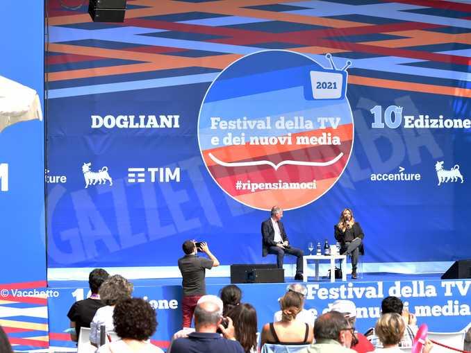 Selvaggia Luccarelli e Andrea Malaguti