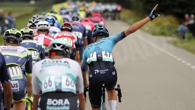 """Al Benelux Tour Sobrero chiude a 5'06"""" di distacco dal vincitore"""
