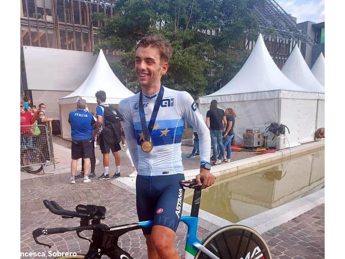 Matteo Sobrero è campione europeo nella cronometro mista a squadre! 3