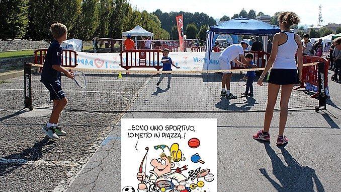 Alba: Sport in Piazza domenica 19 settembre in piazza Cagnasso