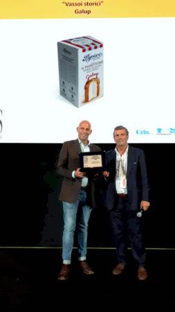 Galup ritira un tris di premi a Cibus - Salone Internazionale dell'Alimentazione 1