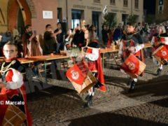 La cena medievale in piazza Duomo per gli Igers 3
