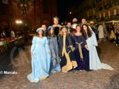 La cena medievale in piazza Duomo per gli Igers 6