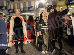 La cena medievale in piazza Duomo per gli Igers 9
