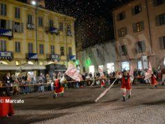 La cena medievale in piazza Duomo per gli Igers 11