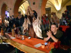 La cena medievale in piazza Duomo per gli Igers 12