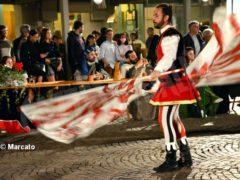 La cena medievale in piazza Duomo per gli Igers 15
