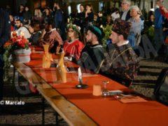 La cena medievale in piazza Duomo per gli Igers 17