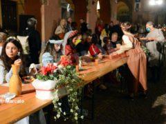 La cena medievale in piazza Duomo per gli Igers 27