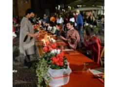 La cena medievale in piazza Duomo per gli Igers 30