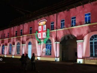 Un'installazione luminosa celebra il progetto del Museo del tartufo di Alba e Montà 2