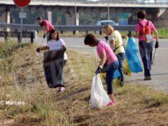 World clean up day: Alba pulisce le strade attorno alla tangenziale 6