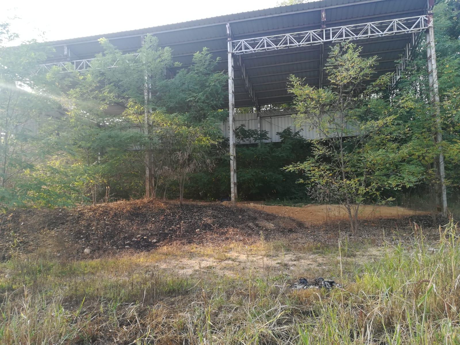 area incendio Sommariva