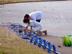 Abbelliamo la città: cittadini al lavoro per ripulire i dintorni del santuario 1