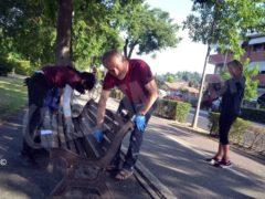 Abbelliamo la città: cittadini al lavoro per ripulire i dintorni del santuario 3