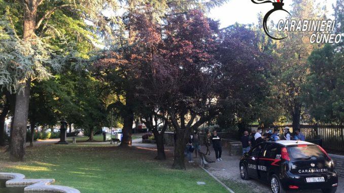 Operazione antidroga dei Carabinieri di Alba in tre parchi cittadini