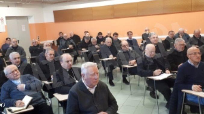 La due giorni del clero ad Altavilla: esercizio e preparazione al cammino sinodale