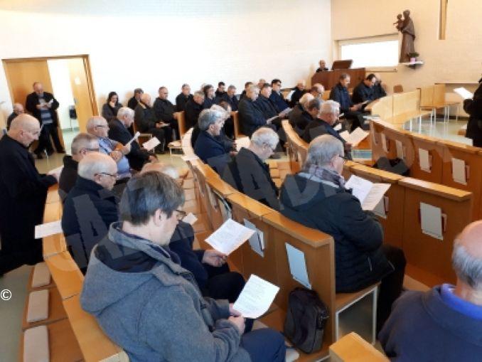 La due giorni del clero ad Altavilla: esercizio e preparazione al cammino sinodale 1