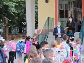 Primo giorno di scuola: il saluto del Sindaco di Bra