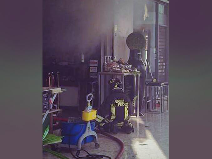 incendio a Torino in via Po 12-09-2021