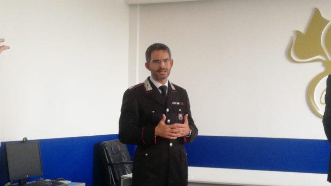 Il maggiore Maurizio Hoffman lascia il comando provinciale di Asti: andrà a comandare il Nucleo ecologico di Torino