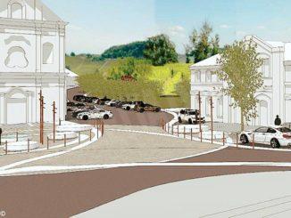 A Treiso piazza Baracco diventerà più bella e sarà pedonale