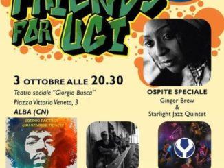 Domenica al Sociale di Alba c'è il concerto benefico Piero's friend for Ugi