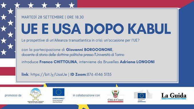Dibattito: Unione Europea e Usa dopo Kabul