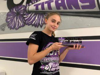 Matilde Ferrero atleta di settembre