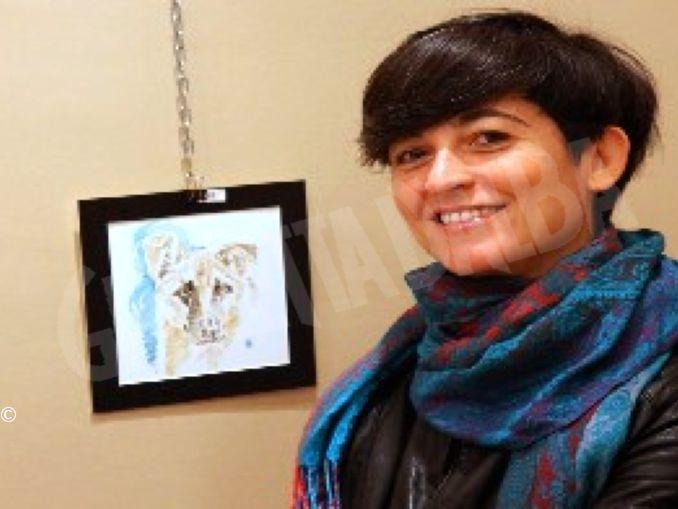 Francesca Semeraro espone mercato terra Bra