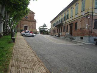 Ceresole d'Alba: al via i lavori per la nuova pavimentazione di piazza Don Cordero