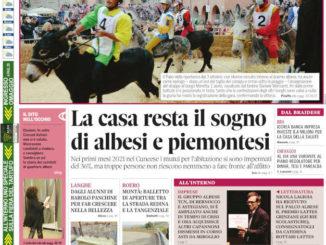 La copertina di Gazzetta d'Alba in edicola martedì 5 ottobre