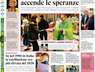 La copertina di Gazzetta d'Alba in edicola martedì 19 ottobre