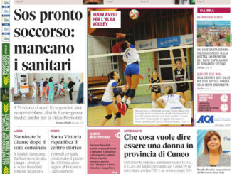 La copertina di Gazzetta d'Alba in edicola martedì 26 ottobre