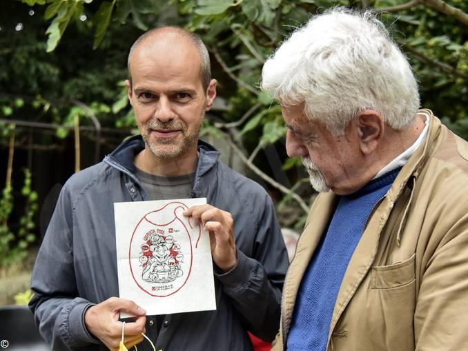 Sergio Ponchione con Sergio Miravalle direttore Astigiani (003)