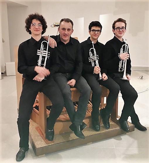 Studenti della classe di tromba