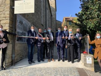 Cossano Belbo ha inaugurato la mostra del buco