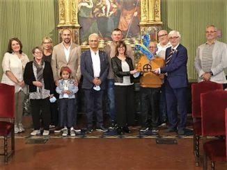 Alba: i delegati delle Città Gemelle in visita ad Alba durante il fine settimana dedicato al folclore albese 2