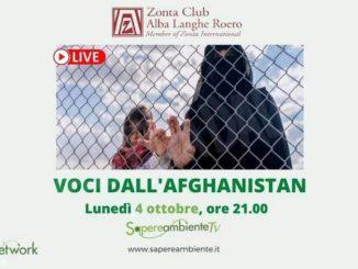 Serata dello Zonta club dedicata alla testimonianze dall'Afghanistan