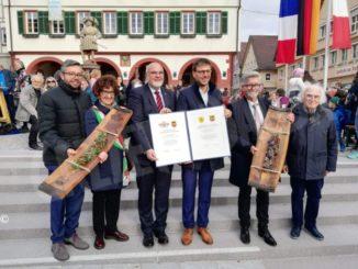 Celebrati a Weil Der Stadt i 20 del gemellaggio con Bra 1