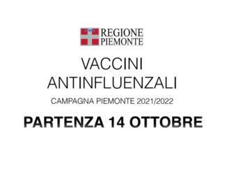 Vaccinazione anti-influenzale: al via in Piemonte dal 14 ottobre