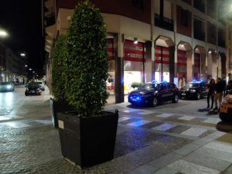 Movida notturna: ancora controlli dei Carabinieri in via Cavour a Bra