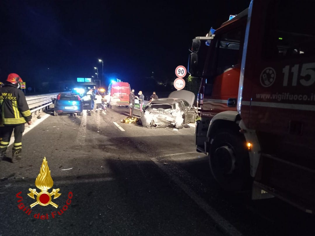 incidente tangenziale Asti